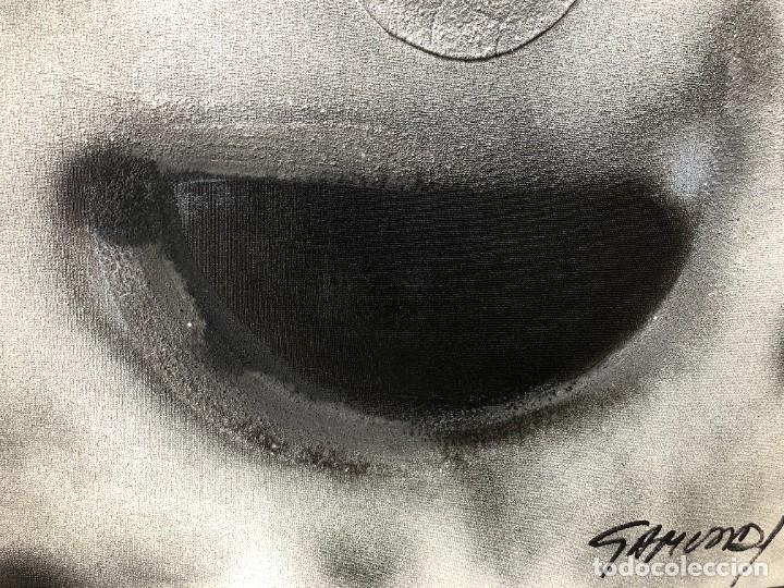 Arte: 1/2 PINTURA RELIGIOSA: ABSTRACCIÓN - EXPRESIONISMO firmada por Gamundi en 1989 - Foto 7 - 206812605
