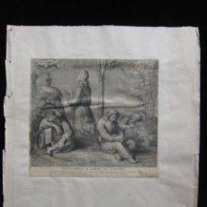 Arte: AGUAFUERTE DESDE RAFAEL, JESUS-CHRIST AU JARDIN DES OLIVIERS DE FLIPART. Lote 206979615