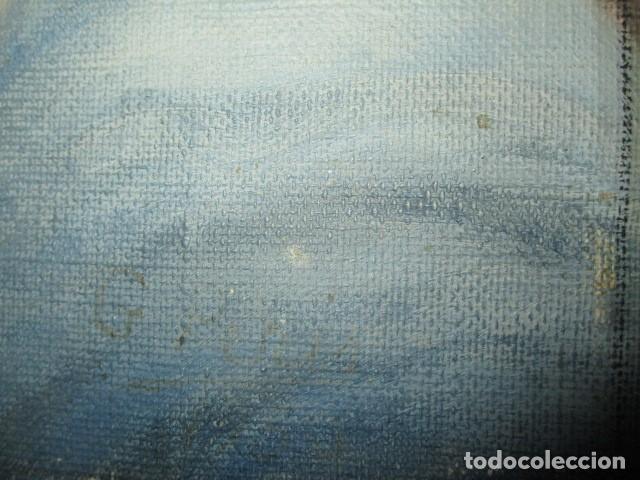 Arte: ANTIGUA PINTURA VIRGEN OLEO EN LIENZO CIRCULO DE GASTON CASTELLO ? ALICANTE - Foto 27 - 140466186