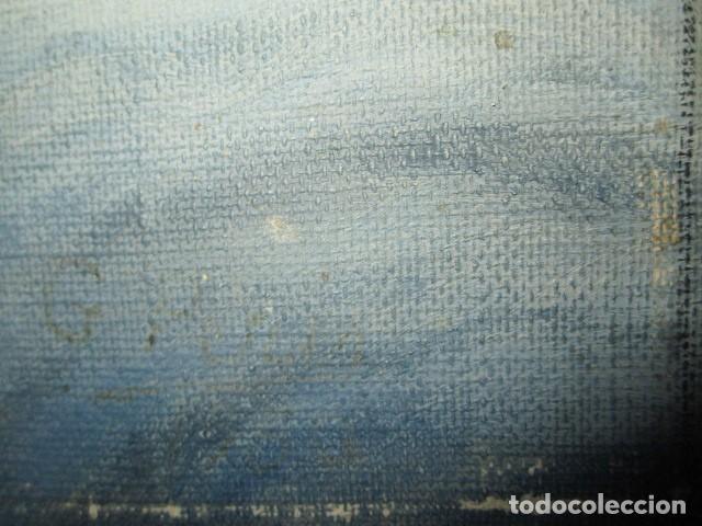 Arte: ANTIGUA PINTURA VIRGEN OLEO EN LIENZO CIRCULO DE GASTON CASTELLO ? ALICANTE - Foto 12 - 140466186