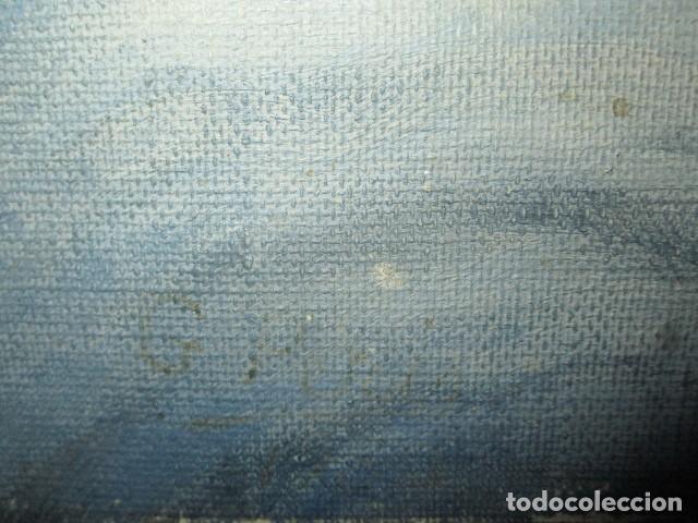 Arte: ANTIGUA PINTURA VIRGEN OLEO EN LIENZO CIRCULO DE GASTON CASTELLO ? ALICANTE - Foto 28 - 140466186