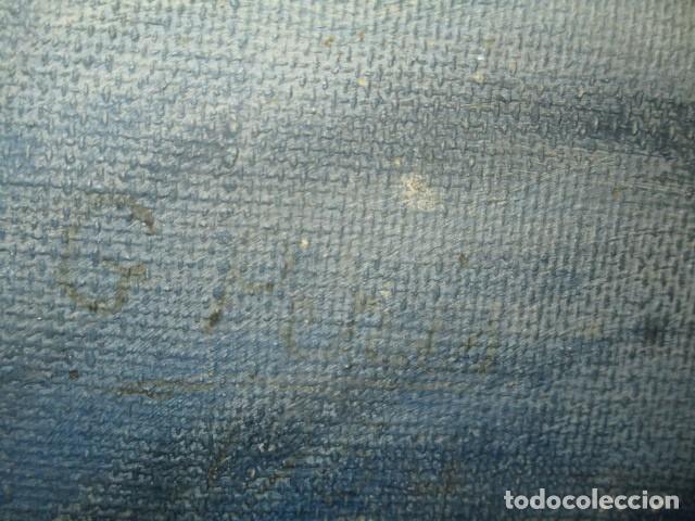 Arte: ANTIGUA PINTURA VIRGEN OLEO EN LIENZO CIRCULO DE GASTON CASTELLO ? ALICANTE - Foto 29 - 140466186