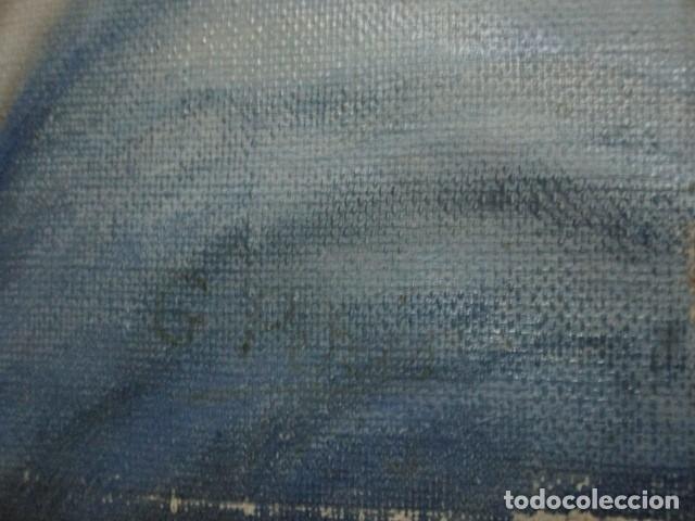 Arte: ANTIGUA PINTURA VIRGEN OLEO EN LIENZO CIRCULO DE GASTON CASTELLO ? ALICANTE - Foto 33 - 140466186