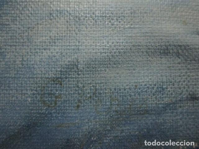 Arte: ANTIGUA PINTURA VIRGEN OLEO EN LIENZO CIRCULO DE GASTON CASTELLO ? ALICANTE - Foto 34 - 140466186