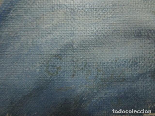 Arte: ANTIGUA PINTURA VIRGEN OLEO EN LIENZO CIRCULO DE GASTON CASTELLO ? ALICANTE - Foto 35 - 140466186