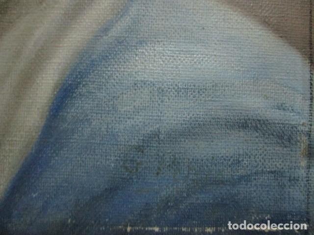 Arte: ANTIGUA PINTURA VIRGEN OLEO EN LIENZO CIRCULO DE GASTON CASTELLO ? ALICANTE - Foto 36 - 140466186