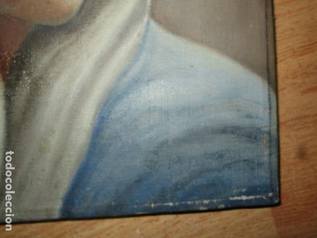 Arte: ANTIGUA PINTURA VIRGEN OLEO EN LIENZO CIRCULO DE GASTON CASTELLO ? ALICANTE - Foto 40 - 140466186