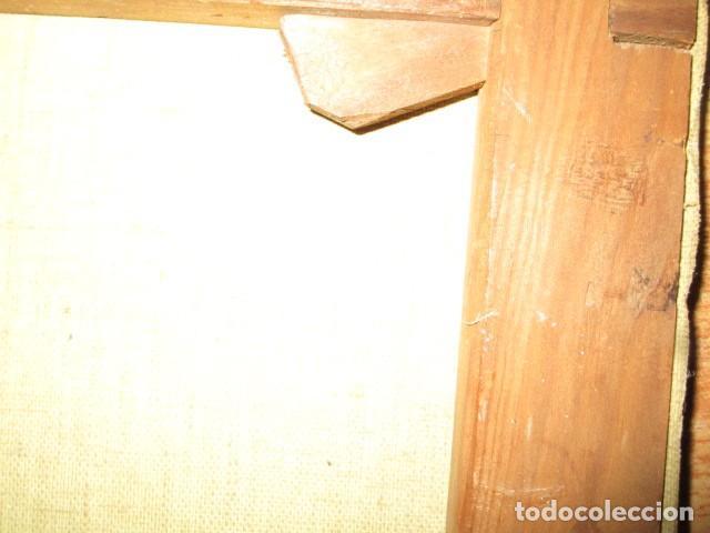 Arte: ANTIGUA PINTURA VIRGEN OLEO EN LIENZO CIRCULO DE GASTON CASTELLO ? ALICANTE - Foto 50 - 140466186