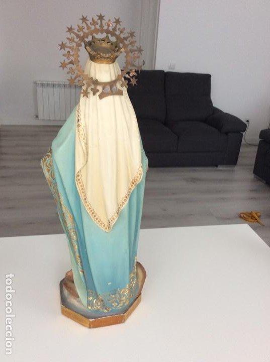 Arte: Imagen de la Virgen Milagrosa siglo XIX o anterior. Bellísimas facciones. Ojos de cristal - Foto 11 - 206811777