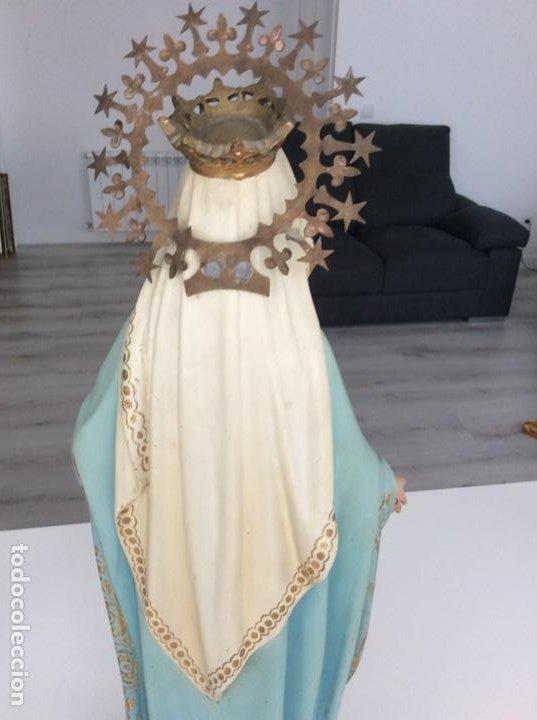 Arte: Imagen de la Virgen Milagrosa siglo XIX o anterior. Bellísimas facciones. Ojos de cristal - Foto 12 - 206811777