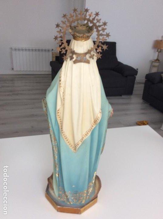 Arte: Imagen de la Virgen Milagrosa siglo XIX o anterior. Bellísimas facciones. Ojos de cristal - Foto 18 - 206811777