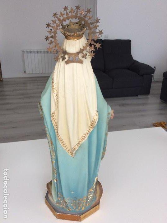 Arte: Imagen de la Virgen Milagrosa siglo XIX o anterior. Bellísimas facciones. Ojos de cristal - Foto 20 - 206811777