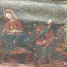 Arte: OLEO SOBRE LIENZO CUZQUEÑO..VIRGEN DE LA LECHE...HUIDA A EGIPTO...SIGLO XVIII. . ARTE - SACRO. Lote 203232171