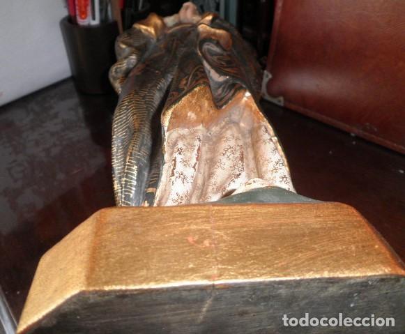 Arte: VIRGEN DE LOS DOLORES. PRECIOSA TALLA EN MADERA MACIZA - Foto 9 - 207723015