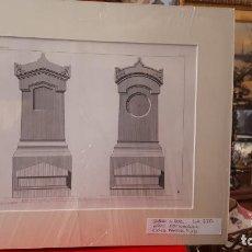 Arte: ARTE FUNERARIO. GRABADO S.XIX. Lote 207759965