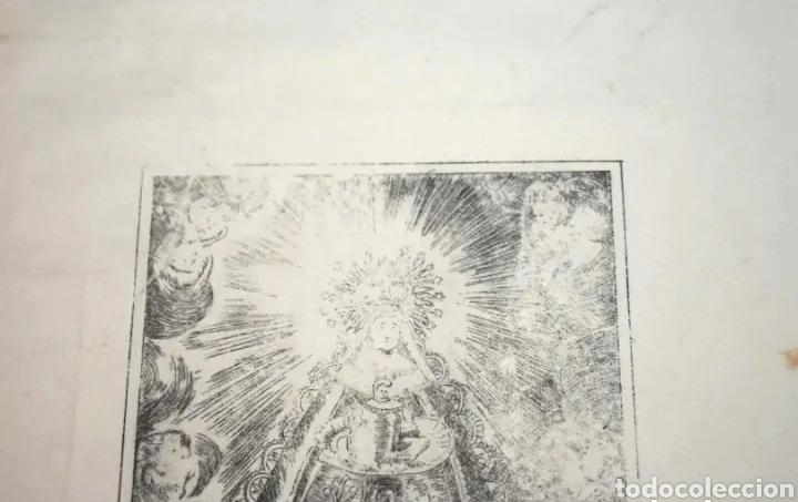 Arte: Grabado Virgen del Rocío - Foto 2 - 208138370