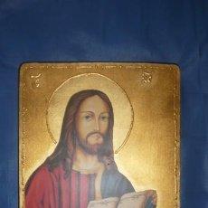 Arte: TABLA CON IMAGEN DE JESUCRISTO. Lote 208581550