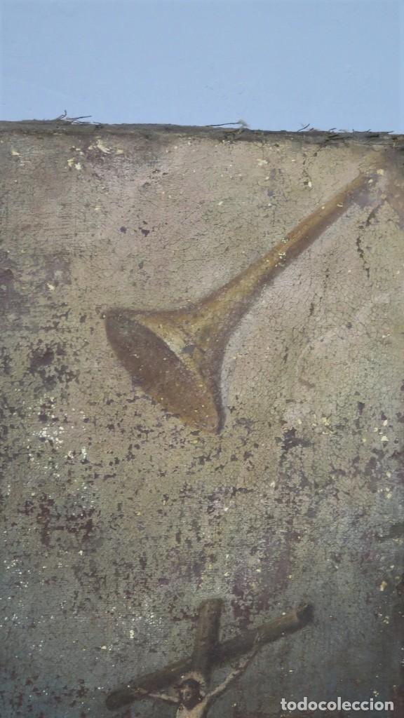 Arte: SAN JERONIMO PENITENTE. OLEO S/ LIENZO. SIGLO XVII. ESCUELA ESPAÑOLA - Foto 4 - 209562478