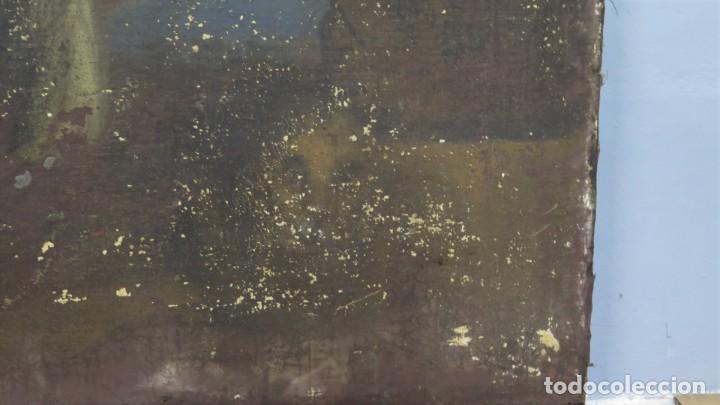Arte: SAN JERONIMO PENITENTE. OLEO S/ LIENZO. SIGLO XVII. ESCUELA ESPAÑOLA - Foto 8 - 209562478