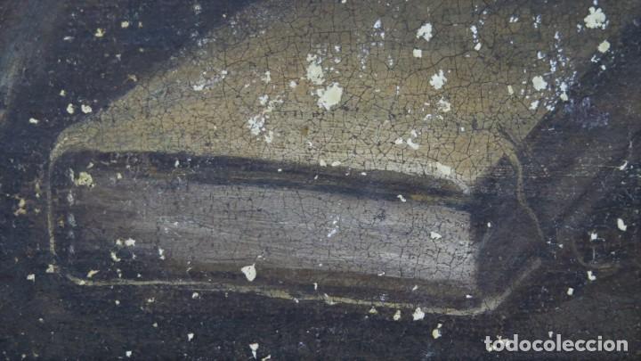 Arte: SAN JERONIMO PENITENTE. OLEO S/ LIENZO. SIGLO XVII. ESCUELA ESPAÑOLA - Foto 10 - 209562478