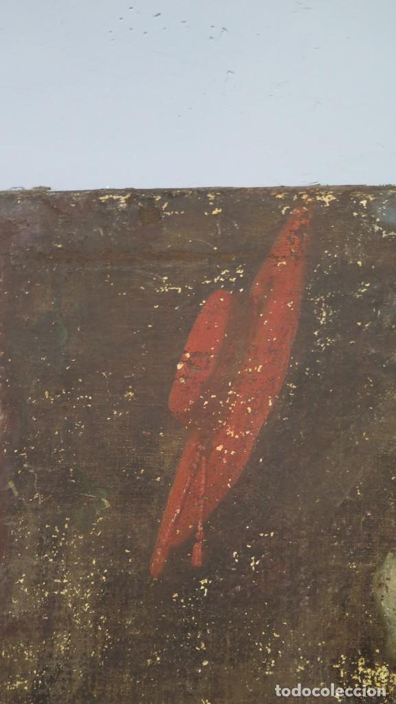 Arte: SAN JERONIMO PENITENTE. OLEO S/ LIENZO. SIGLO XVII. ESCUELA ESPAÑOLA - Foto 12 - 209562478
