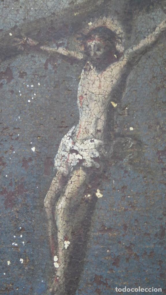 Arte: SAN JERONIMO PENITENTE. OLEO S/ LIENZO. SIGLO XVII. ESCUELA ESPAÑOLA - Foto 13 - 209562478