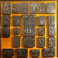 Arte: MAGNIFICA COLECCIÓN DE PLANCHAS DE BOJ. XILOGRAFÍA. VARIOS TEMAS. SIGLO XVII-XIX. Lote 209729428
