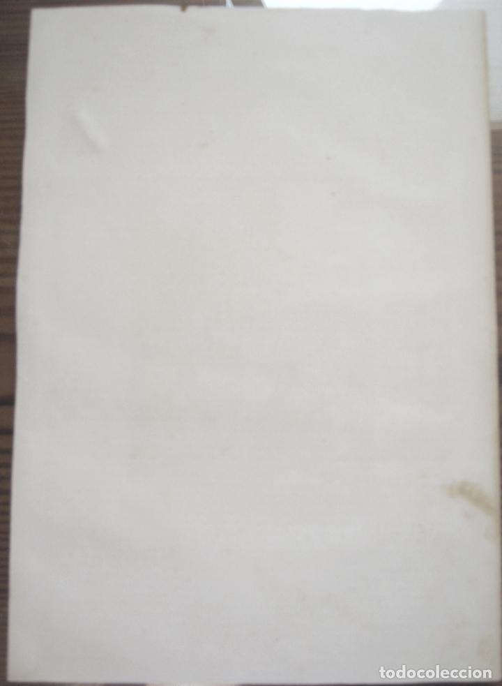 Arte: c. 1850 . Bello Grabado litografico SAN MIGUEL ARCANGEL - Foto 7 - 209744061