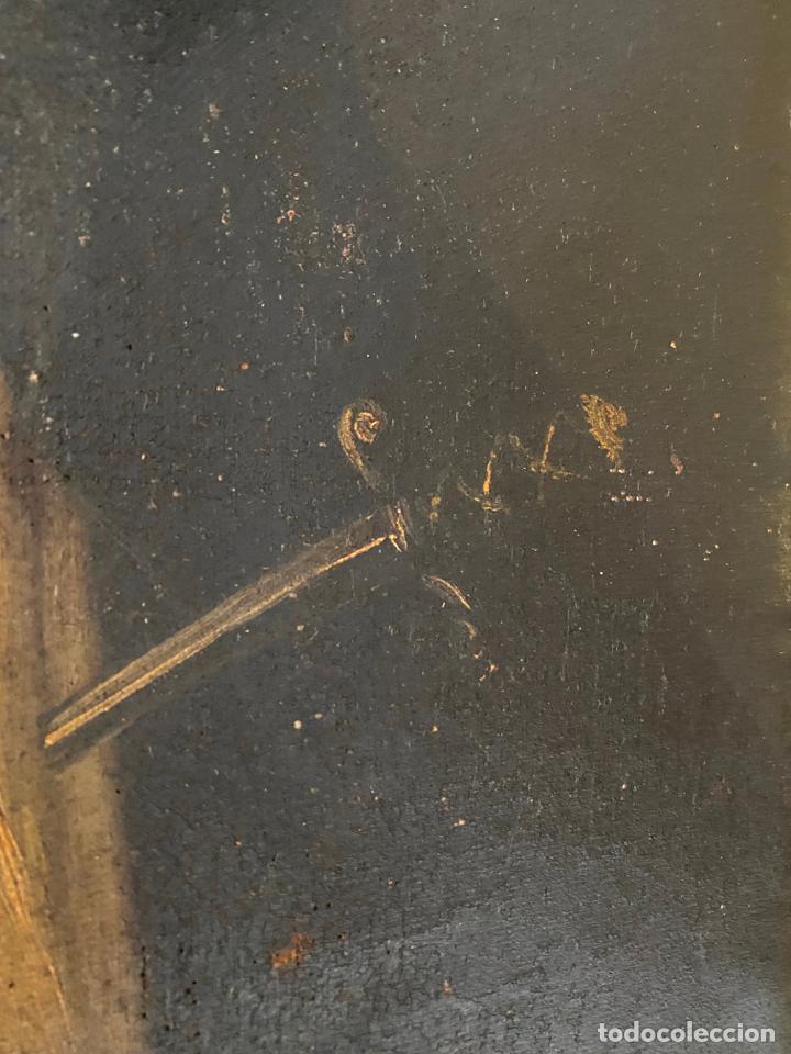 Arte: dolorosa , óleo sobre lienzo , siglo XIX - Foto 2 - 209838805