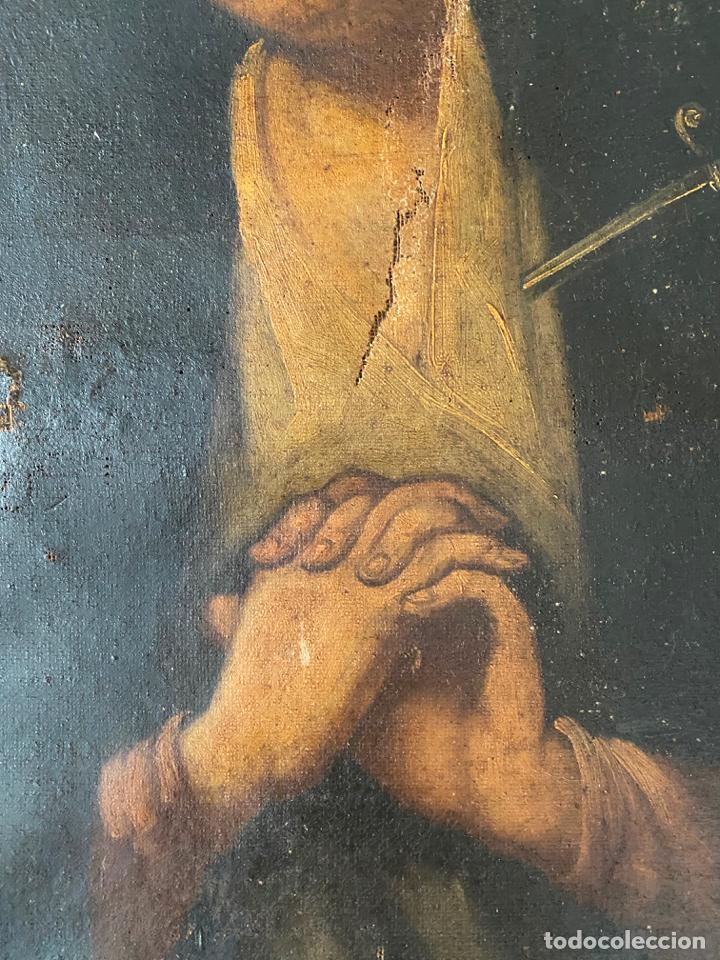Arte: dolorosa , óleo sobre lienzo , siglo XIX - Foto 7 - 209838805