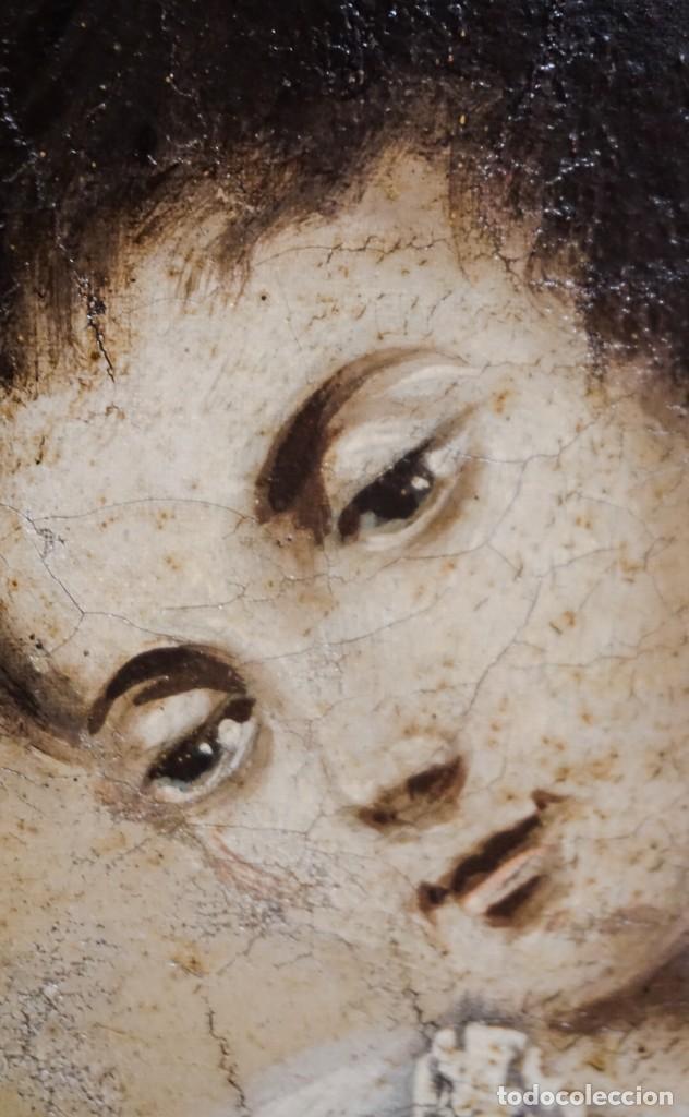 Arte: San Luis Gonzaga óleo sobre lienzo - Foto 3 - 209898885