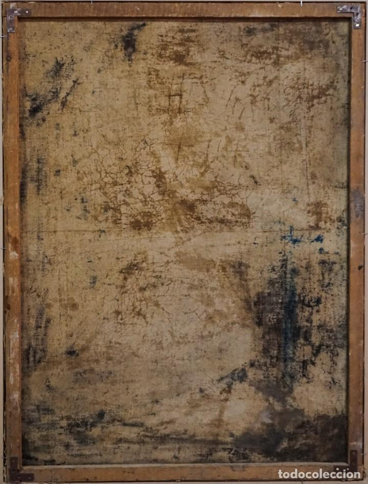 Arte: San Luis Gonzaga óleo sobre lienzo - Foto 6 - 209898885