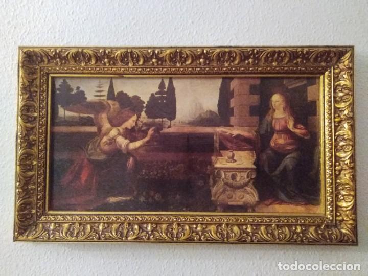 Arte: Cuadro El ángel visita a María - Anunciación - Foto 2 - 210036917