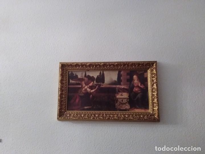 Arte: Cuadro El ángel visita a María - Anunciación - Foto 4 - 210036917