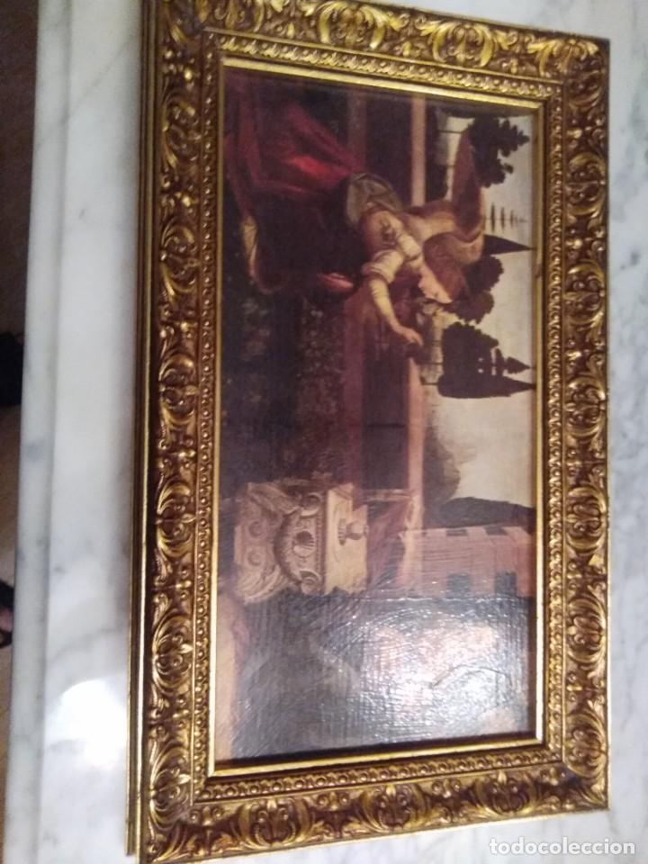 Arte: Cuadro El ángel visita a María - Anunciación - Foto 7 - 210036917