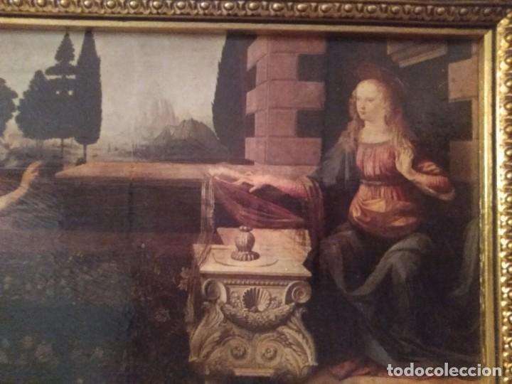 Arte: Cuadro El ángel visita a María - Anunciación - Foto 8 - 210036917