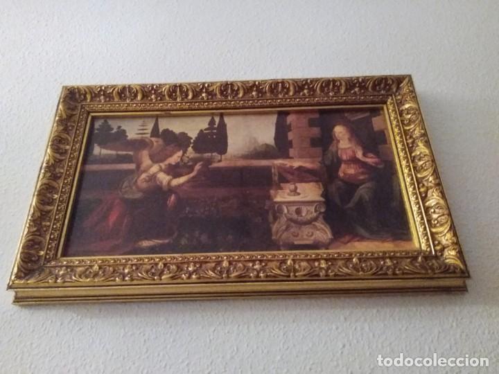 Arte: Cuadro El ángel visita a María - Anunciación - Foto 9 - 210036917