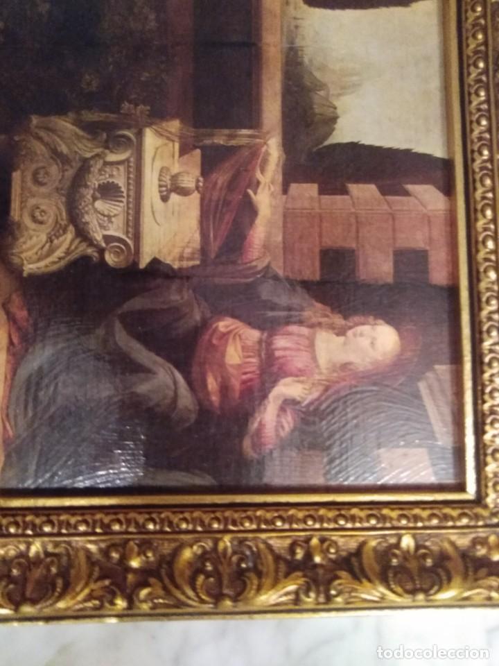 Arte: Cuadro El ángel visita a María - Anunciación - Foto 10 - 210036917