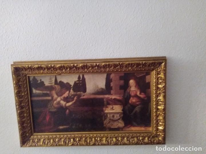 Arte: Cuadro El ángel visita a María - Anunciación - Foto 11 - 210036917