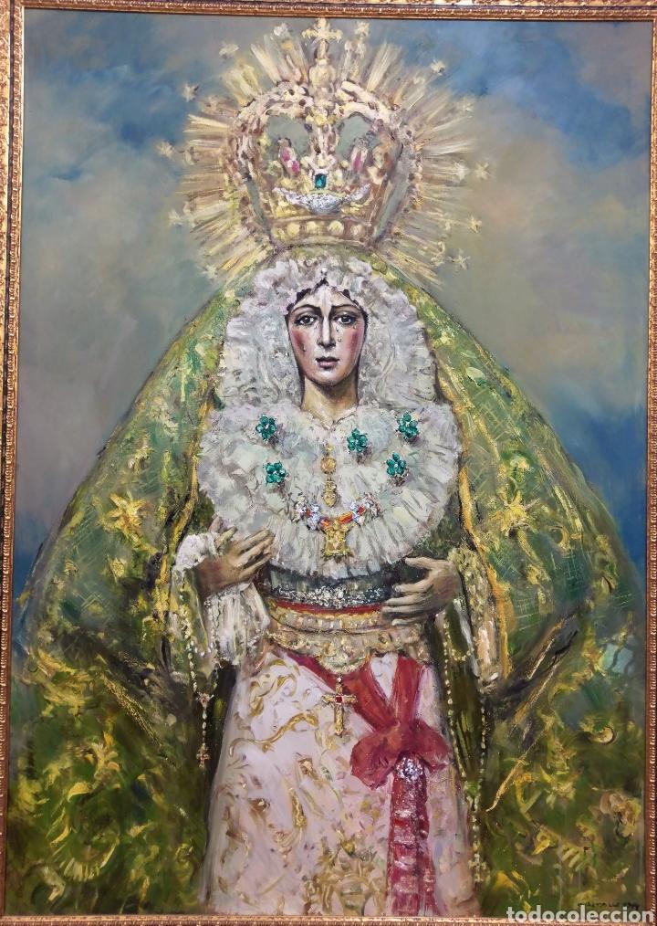 ESPERANZA MACARENA 2020 (Arte - Arte Religioso - Pintura Religiosa - Oleo)