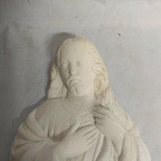 Arte: JESUCRISTO FABRICADO EN ESCAYOLA.. Lote 210157357