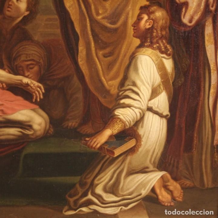 Arte: Pintura religiosa italiana antigua San Jerónimo del siglo XIX - Foto 5 - 210165080