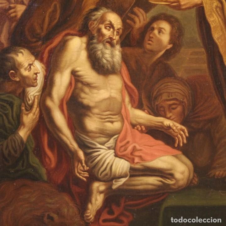 Arte: Pintura religiosa italiana antigua San Jerónimo del siglo XIX - Foto 6 - 210165080