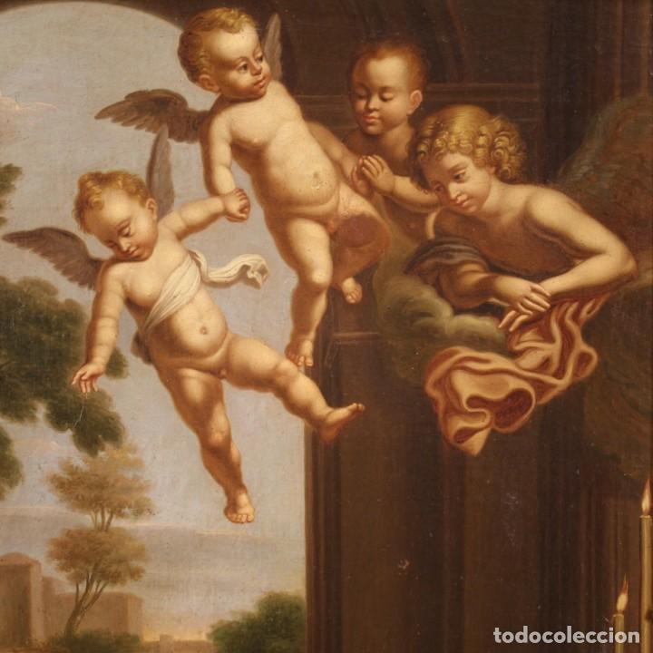 Arte: Pintura religiosa italiana antigua San Jerónimo del siglo XIX - Foto 7 - 210165080