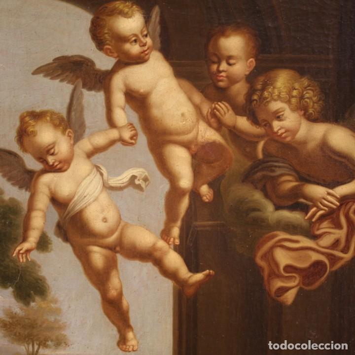 Arte: Pintura religiosa italiana antigua San Jerónimo del siglo XIX - Foto 8 - 210165080
