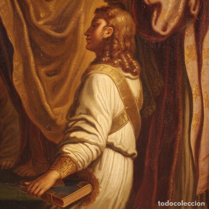 Arte: Pintura religiosa italiana antigua San Jerónimo del siglo XIX - Foto 9 - 210165080
