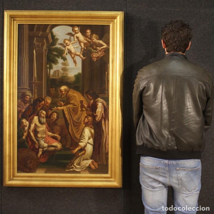 Arte: Pintura religiosa italiana antigua San Jerónimo del siglo XIX - Foto 10 - 210165080