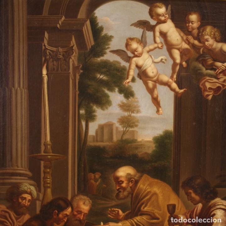Arte: Pintura religiosa italiana antigua San Jerónimo del siglo XIX - Foto 11 - 210165080