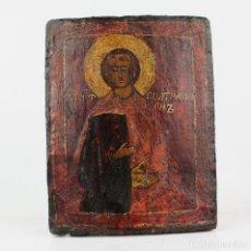 Arte: ICONO, POSIBLEMENTE DE BULGARIA. 11,5X14,5 CM. Lote 210194126