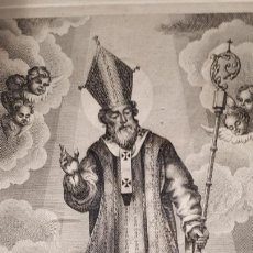 Arte: SAN NICOLAS DE BARI. GRABADO DE 1851.. Lote 210337136